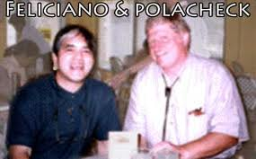 A.E. Feliciano and Dr Polacheck